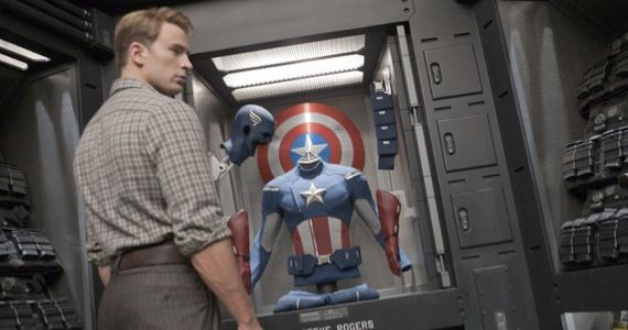 captain america avengers The Avengers: Helicarrier Images & Captain America Costume Talk