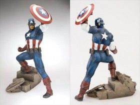 captain america costume design statue 280x210 Thor & Captain America Costume Designs?