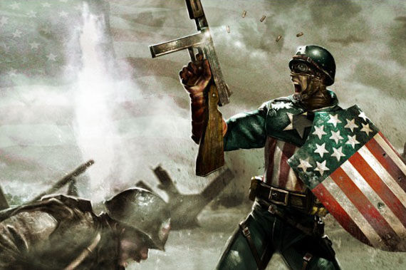 captain america movie world war 2 John Krasinski Is (Not) Captain America? [Updated]