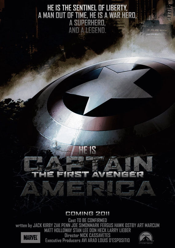 captain america poster Poster Friday: Toy Story 3, Saw VI, A Christmas Carol & Many More!