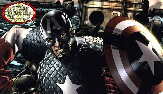 captain america reborn drawn by bryan hitch Director Joe Johnston Talks Captain America & The Rocketeer 2