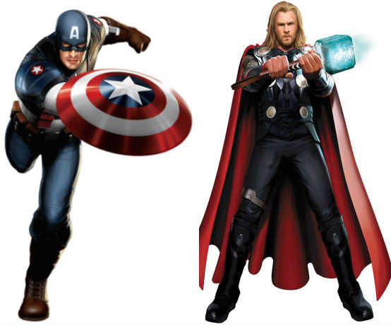 captain america thor movies 3d Thor & Captain America Will Be Converted Into 3D