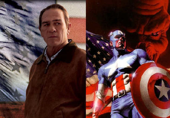 captain america tommy lee jones Tommy Lee Jones Is Colonel Phillips In Captain America [Re Updated]