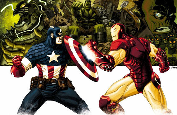 captain america vs iron man fight video SR Pick [Video]: Captain America vs. Iron Man