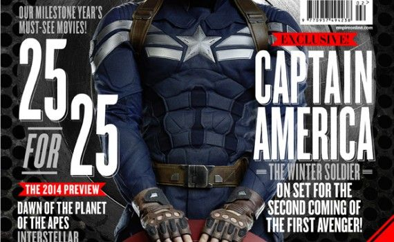 captain america winter soldier image 570x350 New Captain America: The Winter Soldier Magazine Covers