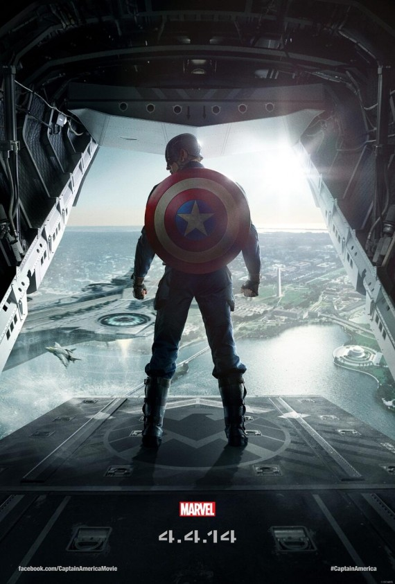 New Captain America: The Winter Soldier Poster; Teaser Trailer Arrives This Week