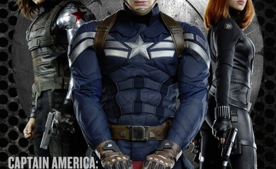 captain american winter soldier cast image 570x350 New Captain America: The Winter Soldier Magazine Covers