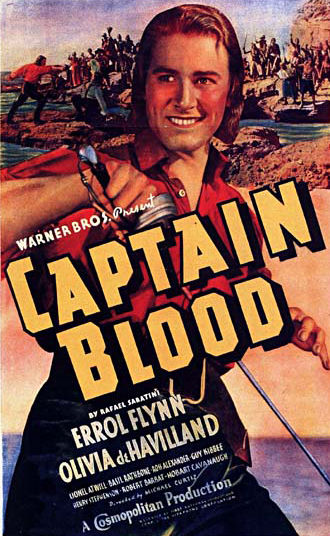 captain blood poster Warner Bros. Remaking Captain Blood...In Space