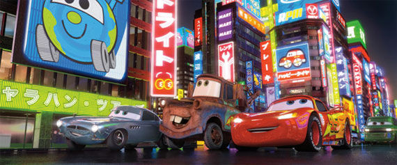 cars 2 finn mcmissile mater lightning mcqueen Movie Image Roundup: Green Lantern, Three Musketeers, Cars 2 and More [Updated]