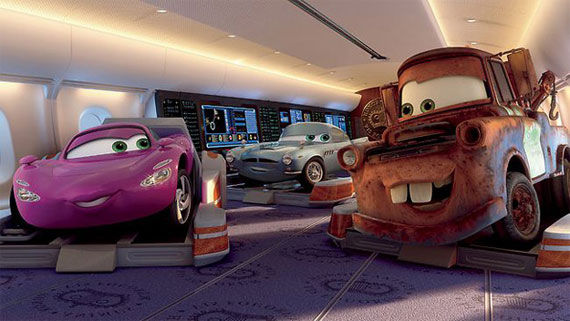 cars 2 mater holley shiftwell Movie Image Roundup: Green Lantern, Three Musketeers, Cars 2 and More [Updated]