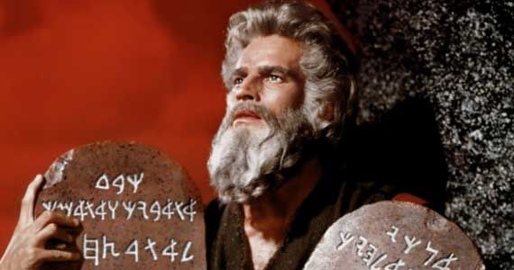 charleton heston ten commandments history channel the bible History Channel Prepares The Bible Miniseries From Survivor Producer