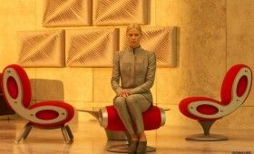 charlize theron prometheus set 280x170 Prometheus Photo Gallery: Meet the Ships Crew