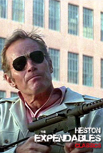 The Expendables Classic Members Edition - Charlton Heston