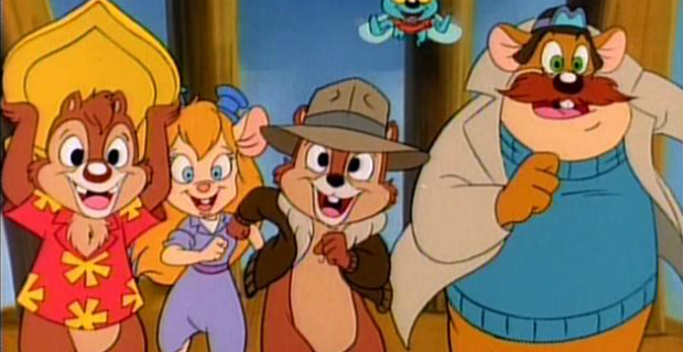 chip n dale rescue rangers live action movie Disney Plans Chip n Dale Rescue Rangers Live Action Movie