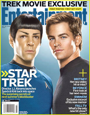 chris pine zachary quinto star trek 7 Brand New Star Trek Images: Crew, New Bridge And More! [UPDATED]