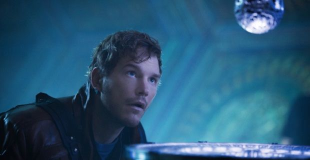 chris pratt star lord guardians of the galaxy New Guardians of the Galaxy Image; Chris Pratt & James Gunn Talk Star Lord