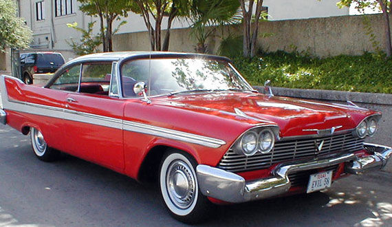 christine 25 Most Iconic Cars From TV & Movies