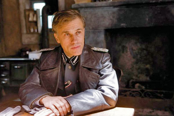 christoph waltz Inglourious Basterds Review