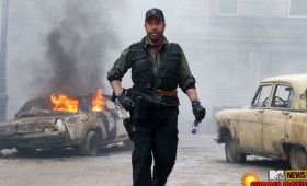 chuck norris expendables 2 280x170 Movie Images & Posters: G.I. Joe 2, Expendables 2, Piranha 3DD & More