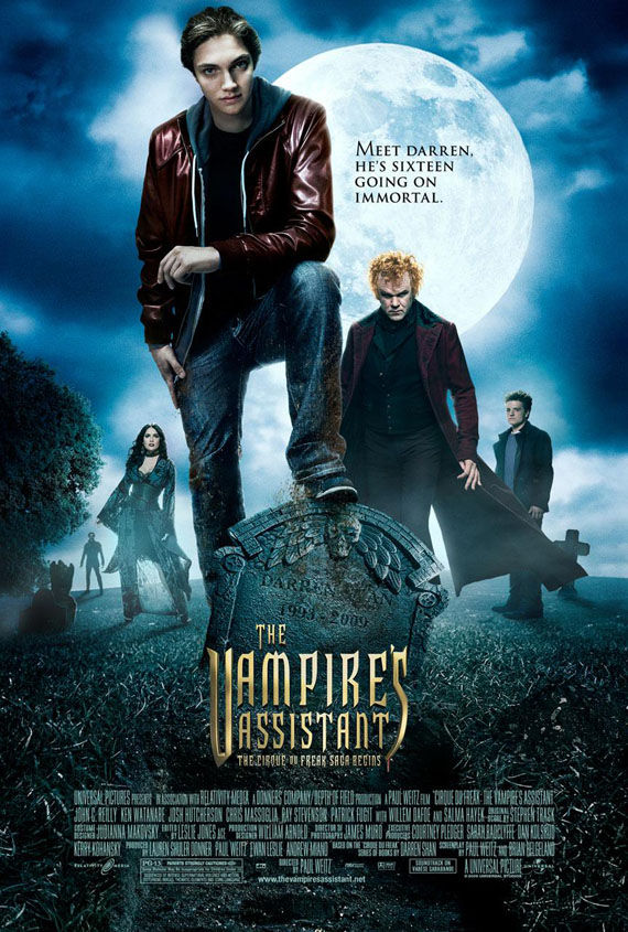 cirque du freak the vampires assistant poster Poster Friday: Moon, Tooth Fairy, Parnassus & More!