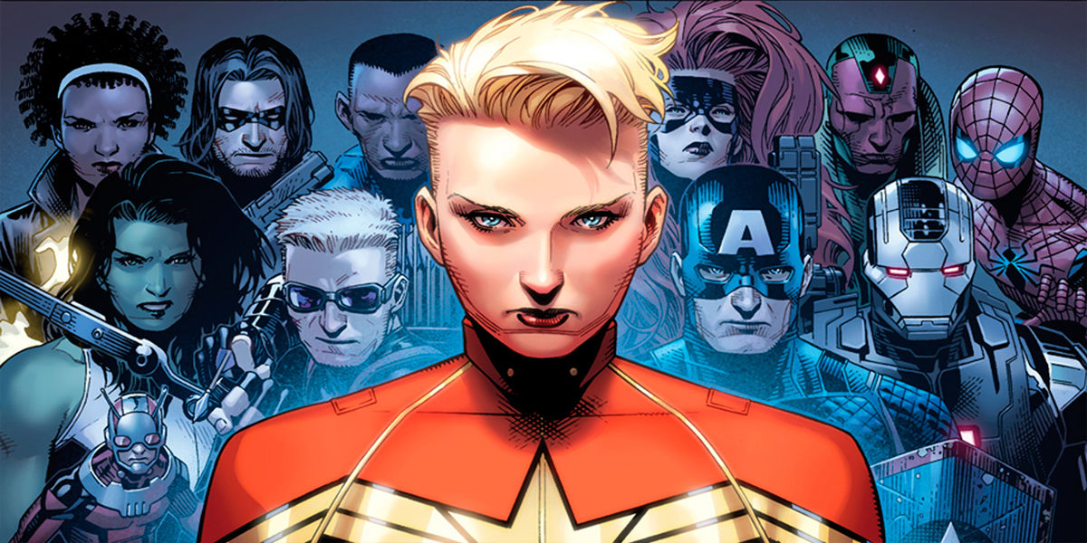 Civil War 2 Team Captain Marvel Carol Danvers