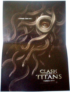 clash of the titans 4 medusa Poster Friday: Kick Ass, Avatar, Green Zone, Wolfman & More!