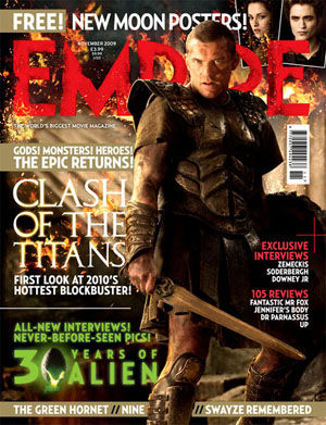 clash of the titans empire cover New Clash of the Titans Photos Reveal Zeus!