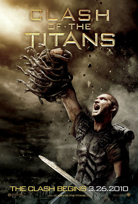 clash of the titans medusa poster Poster Friday: Clash of the Titans, Iron Man 2 & More!