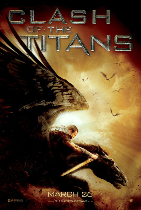 clash of the titans pegasus poster Poster Friday: Clash of the Titans, Iron Man 2 & More!