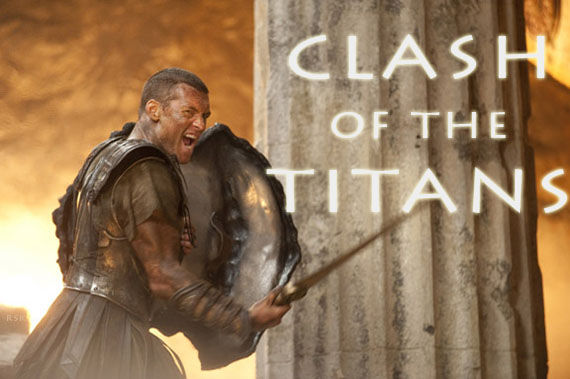 clash of the titans sam worthington as perseus Clash of the Titans Set Footage
