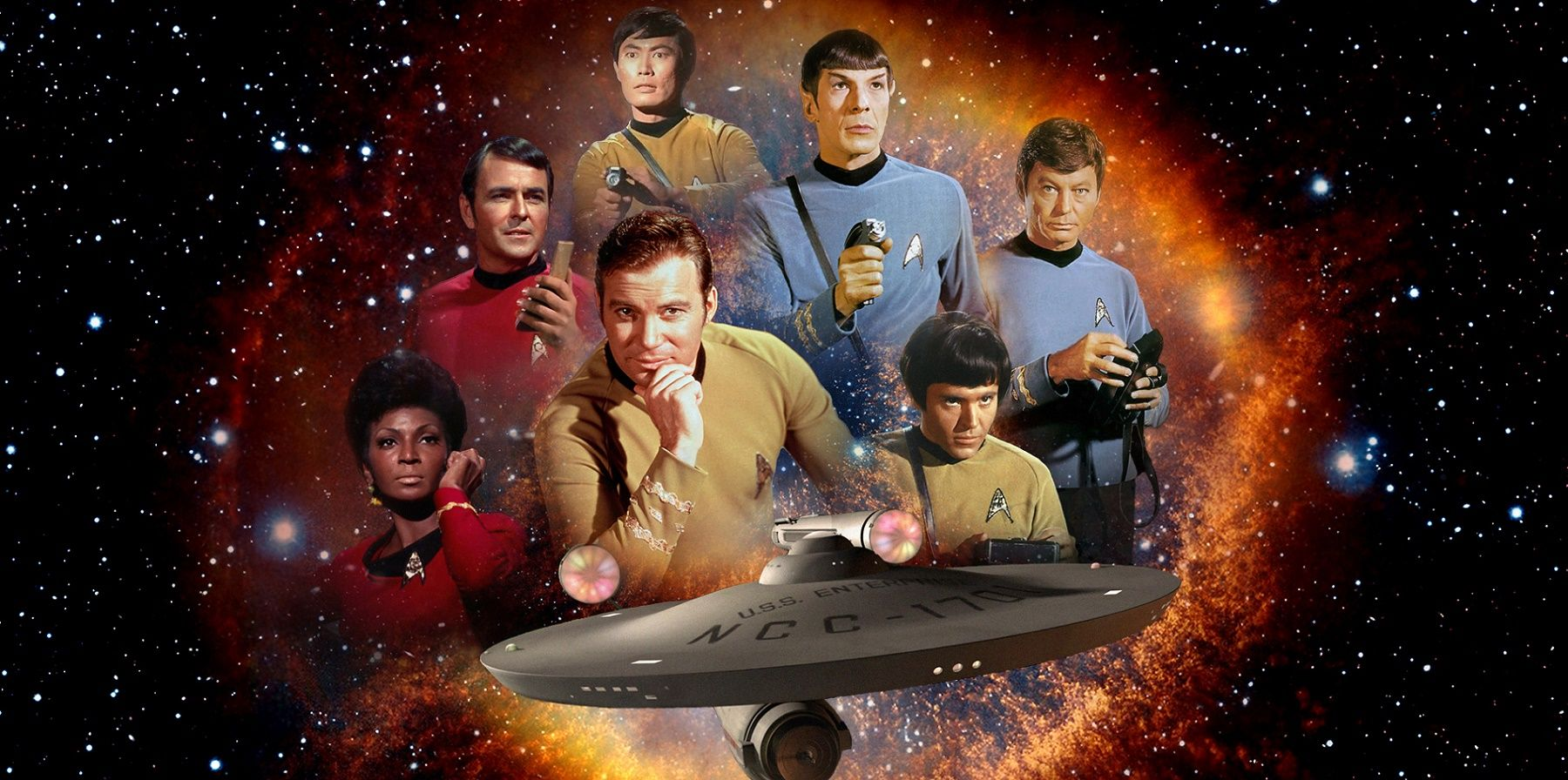 Image result for star trek 50th anniversary