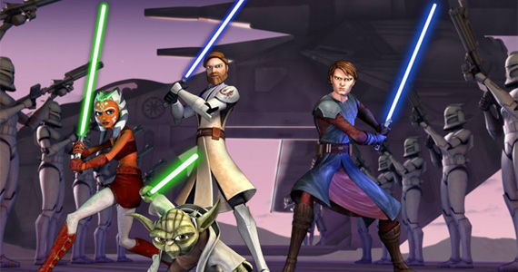 clone wars keyart Star Wars Rebels Animated TV Series Coming to Disney XD in 2014