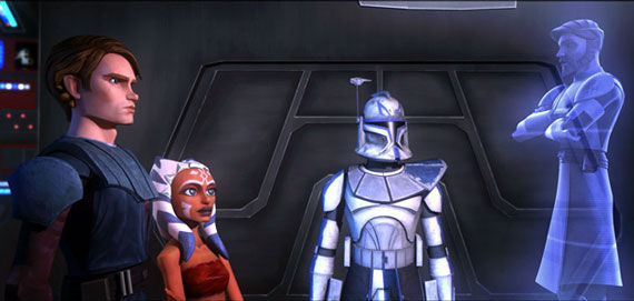 clone wars scene1 Star Wars: The Clone Wars Review