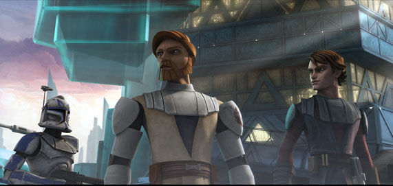clone wars scene2 Star Wars: The Clone Wars Review
