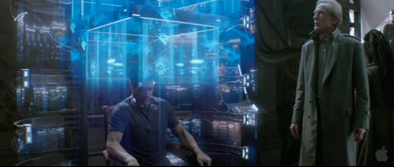 colin farrell bill nighy total recall trailer 570x242 Colin Farrell and Bill Nighy in Total Recall