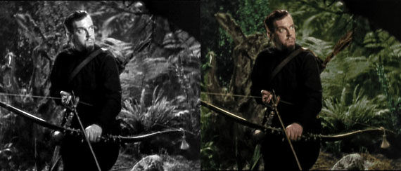 colorized robin hood before 3D Movies Run Amok: A Fad That Should Stop... But Wont