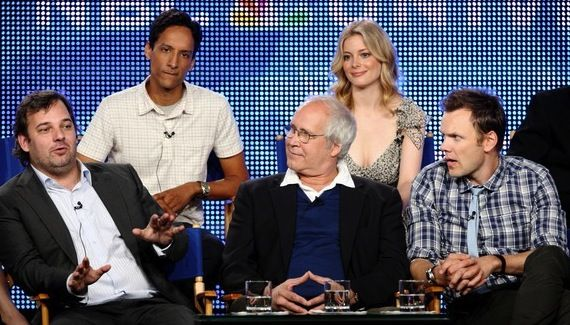 community cast dan harmon Fired Community Creator Dan Harmon Asked Back for Season 5?
