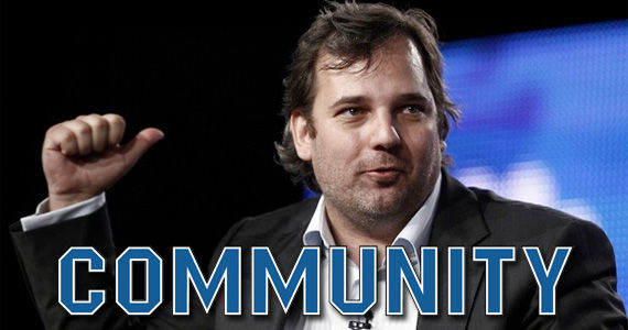 community dan harmon panel title Fired Community Creator Dan Harmon Asked Back for Season 5?