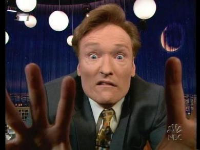 conan face Conan Says No Way to Tonight Show Time Change