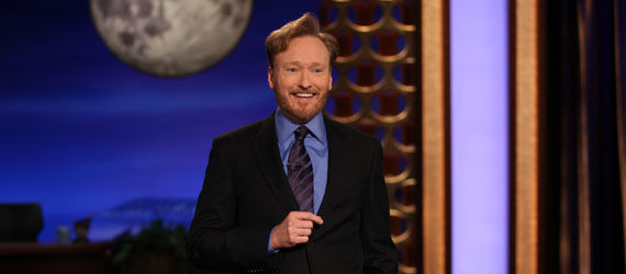 conan obrien conan premiere monologue Conan OBrien Returns To Basics For Conan Premiere