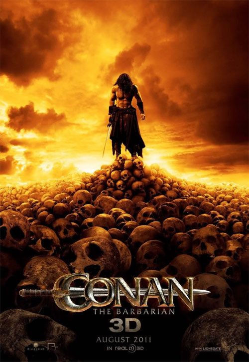 Static version of Conan the Barbarian motion poster