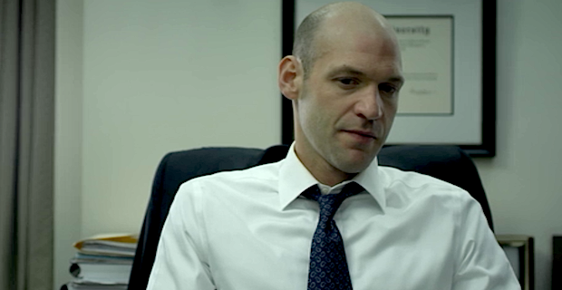 coreystoll houseofcards Corey Stoll in Talks for Ant Man; Evangeline Lilly Closes Deal