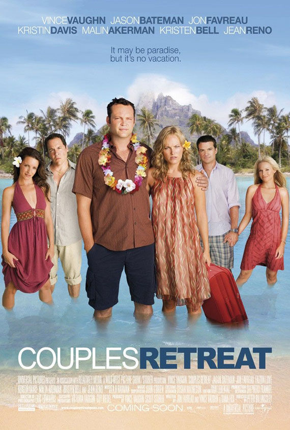 couples retreat poster New Posters: The Road, 2012, Where The Wild Things Are & More!