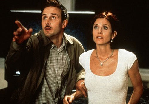 courtney cox david arquette scream Scream 4 Starts Shooting This Spring