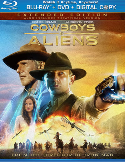 cowboys aliens blu ray cover DVD/Blu Ray Breakdown: December 6, 2011