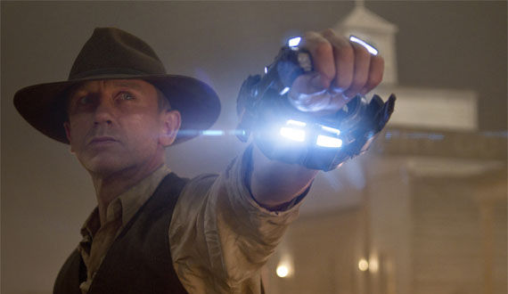 cowboys and aliens designs Cowboys & Aliens Edit Bay Visit With Jon Favreau