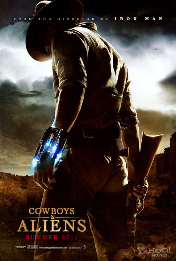 cowboys and aliens poster First Cowboys & Aliens Trailer (Plus Jon Favreau Interview)