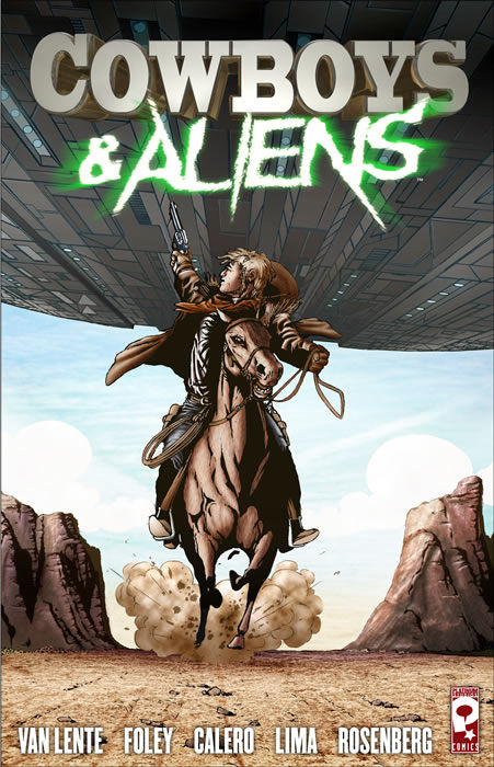 cowboys and aliens Favreau & Downey Jr vs. Cowboys & Aliens
