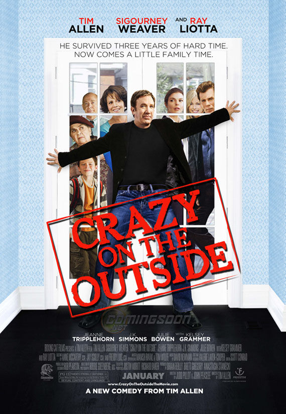 crazy on the outside poster Poster Friday: Avatar, Kick Ass, Lost, Salt & More!