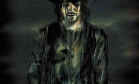 crow reboot concept artwork costume hat 280x170 Concept Artwork Reveals Bradley Coopers The Crow Character Design